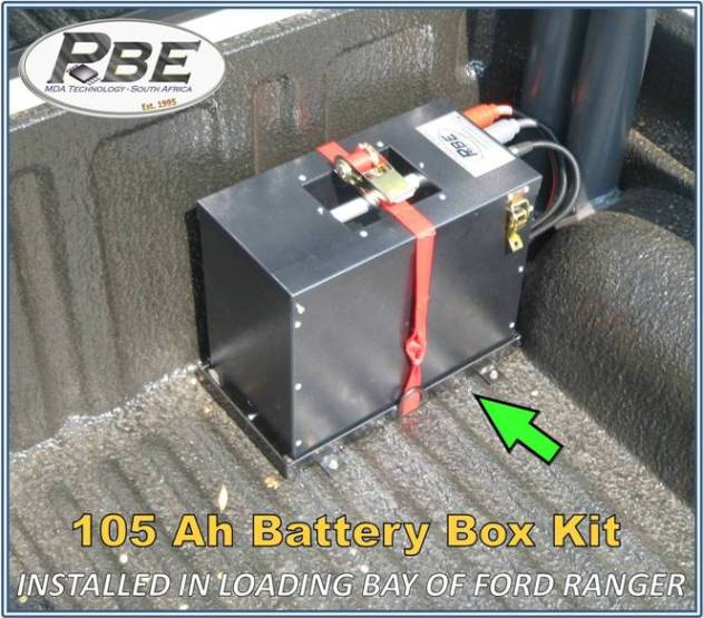 Pbe Ford Ranger Dual Battery System Installations